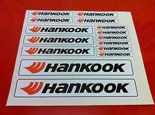 Hankook pneus Pneus Drift Stickers Job Lot Pare-chocs Porte Autocollant Décalque Autocollants