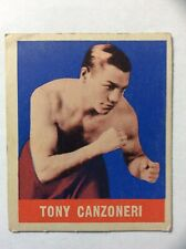 1948 Leaf Boxing CARD #77 TONY CANZONERI
