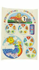 Fisher-Price Laugh & Learn Crawl Around Car Blue - Replacement Labels DJD09