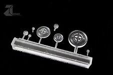 Zinge Industries - Clear Crosshair Lenses Set of 8