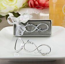 75 Infinity Love Forever Silver Metal Bottle Opener Wedding Shower Gift Favors