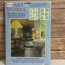 Green Ivy Vine Springs Art Works Decorative Transfers # 76687