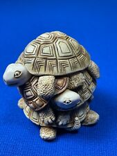 Harmony Kingdom Shell Game Turtle Box Figurine. Excellent
