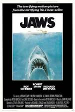 "JAWS (1975) Movie Poster [Licensed-NEW-USA] 27x40"" Theater Size (SPIELBERG)"