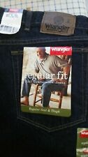 WRANGLER Hero Regular Fit Straight Leg Men's Blue Jeans 42 x 32 96501MR NEW