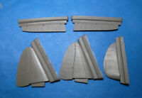 Vector Resin 1/48 scale Control Surfaces for the MiG-3 by Trumpeter - VDS48122
