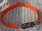 """Team Realtree Real TreeOrange Dog Collar Center Ring O-Ring Double Poly 1"""" x 22"""""""