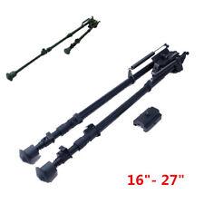 "Metal 16""- 27"" Spring Return Harris style Bipod Sling Swivel W/Rail Adapter 20MM"