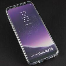Samsung Galaxy S8 doppel Bumper Schutz hinten vorne Case Silikon ultradünn Hülle