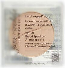 Jane Iredale PurePressed Base Mineral Foundation SPF20 Refill LIGHT BEIGE 0.35oz