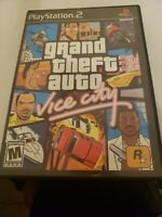Grand Theft Auto: Vice City PS2 Game PlayStation 2 Complete w/ Manual & Poster
