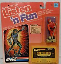 GI JOE ~ 1985 LISTEN N FUN TRIPWIRE ~ AWESOME MOC MOSC RARE ...... 1983