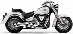 Cobra - 2221 - Speedster Swept Exhaust, Chrome