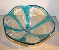 "Mdina Maltese Art Glass 10"" Bowl"