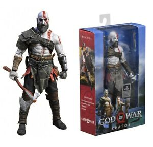 """Neca Kratos God Of War 7"""" Scale Action Figure PS4 Gaming - New - Official"""
