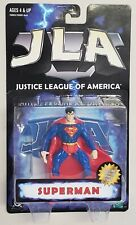 JUSTICE LEAGUE OF AMERICA SUPERMAN WITH JLA COLLECTOR DISPLAY STAND