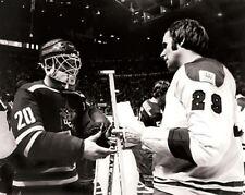 Ken Dryden Montreal Canadiens Vladislav Tretiak CSKA 8x10 Photo