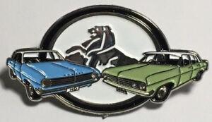 HD HR Sedan Cars - lapel / hat pin badge.  -- 1965 TO 1967. --   C040502