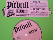 "Pitbull  ""Back Up"" and ""Dammit Man"" Single Vinyl LP TVTRECORDS"