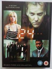 24 - SEASON 3  DVD - 7 DISC BOX SET