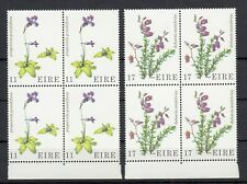 (54152) Ireland MNH Blocks Wild Flowers 1978