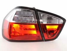 BMW E90 3 SERIES PREFACELIFT SALOON CLEAR LED LIGHTBAR REAR LIGHTS 2004-2008 AS