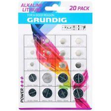 20x pile batterie a bottone CR1620 CR2016 CR2025 CR2032 AG1 AG3  AG4 AG5 AG8 AG1