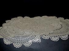 Hand Crochet Doilies Placemats Set - Lot of 8 pcs Pkg5