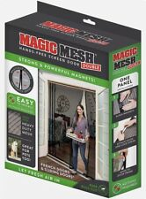 Hands Free Screen Magnetic Screen Double Door Fresh Air Prevent Insects