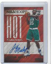 2015-16 NBA Hoops Jordan Mickey Hot Signatures Rookie RC Auto Celtics