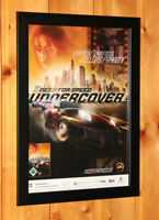 Need for Speed Undercover Rare Small Poster / Ad Page Framed PS3 PS2 Xbox 360