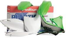 Polisport  Plastic Kit Set Green KAWASAKI KX250 2003-2007 KX125 2003-2005
