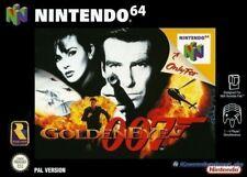 N64-James Bond 007: Golden Eye (cartucho) (usado)