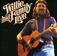 Willie Nelson, Willie Nelson & Family - Willie & Family Live [New CD] Rmst