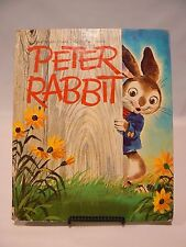 Peter Rabbit   A Whitman Giant Tell-a-Tale Book  1963 Vintage