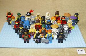 LEGO Minifigures: NINJAGO COLLECTION Skybound MOVIE Possesion 30 MINIFIGS LOT