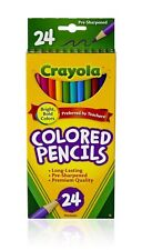 Crayola 24 Count Colored Pencils, Lot of 3, 72 Pencils in All