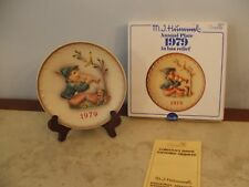 1979 MJ hummel annual plate Singing Lesson Goebel