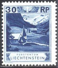 LIECHTENSTEIN #99a SCARCE Mint - 1930 30rp Dp Ultra, P 11 1/2 x 10 1/2