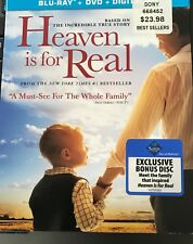Heaven is For Real Blu Ray/DVD with Digital Copy