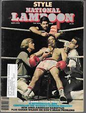 NATIONAL LAMPOON THE HUMOR MAGAZINE SEPTEMBER 1978 (VG+)