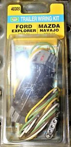 Trailer Connector Kit-Plug-In Simple Hopkins 40305 Ford Explorer, Mazda Navajo