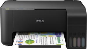 New Epson EcoTank L3111 L3110 A4 USB Colour Inkjet Printer + inks + USB cable