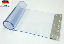 PVC Ersatzstreifen Streifenvorhang Lamellenvorhang Streifen Vorhang 200x2mm blau