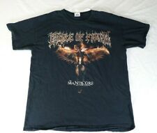 """""""Cradle Of Filth The Manticore and Other Horrors"""" Tour Concert T Shirt L"""