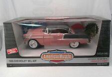 American Muscle ERTL 1/18 1955 Chevy Bel-Air Die Cast Automotive 1/2500 SEALED
