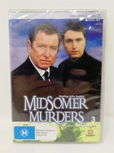 Midsomer Murders : Season 3 - Series Three - Region All DVD - Brand New