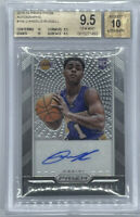 ROOKIE! 2015-16 D'Angelo Russell Panini Prizm Auto RC! BGS 9.5/10! True Gem