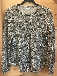 Women's Lucky Brand Top, Size Medium, Leopard, NWT, Retails For $69