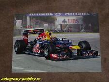 Mark WEBBER - CZE Red Bull art by M. Reinis Karte/card, cca 10x15 cm RAR!